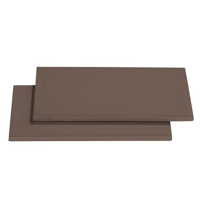 "Ceramic Wall Tiles - 3"" x 6"" - 136/box - Dark Taupe"