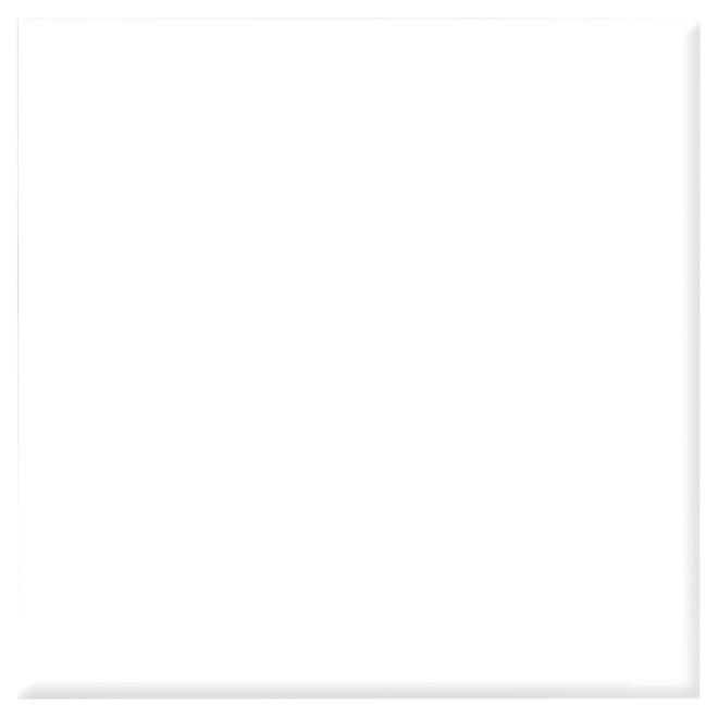 """Céramique murale, blanc lustré, 4"""" x 4"""", 152/boîte"""