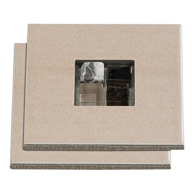 Ceramic wall tile - Cube deco