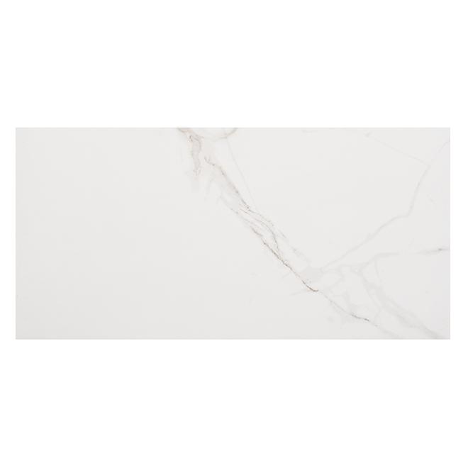 "Glamour Porcelain Tiles - 11.8"" x 23.6"" - 8/Box - Calacatta"