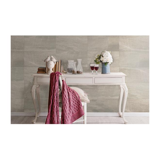 "Pietra Moda Porcelain Tiles - 11.8"" x 23.6"" - 9/Box - Greige"