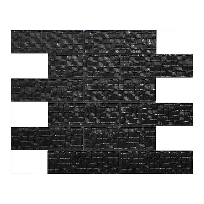 "Mosaic Tiles - 12"" x 12"" - 11/Box - Anthracite"