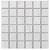 """Paros 2x2"" Porcelain Tile - 30 x 30 cm - White - 4/box"