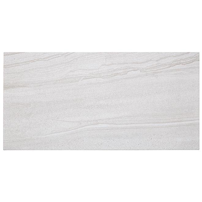 """""""Paros"""" Porcelain Tile - 30 x 60 cm - White - 9/box"""