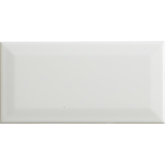 """Ceramic Tiles - 4"""" x 8"""" - 50/box - Glossy White - 10.70 sq. ft."""