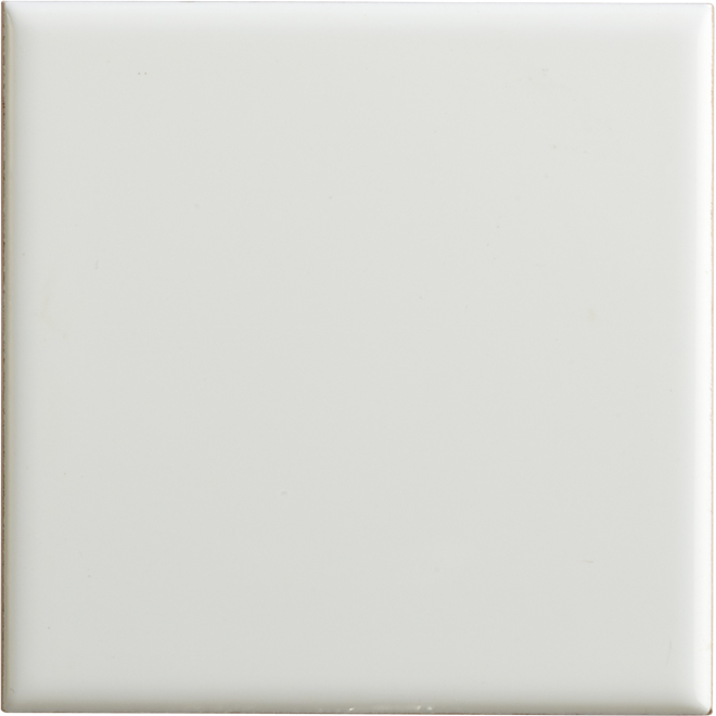 Wall Ceramic - 4'' x 4'' - 110 Tiles/Box - Gloss White