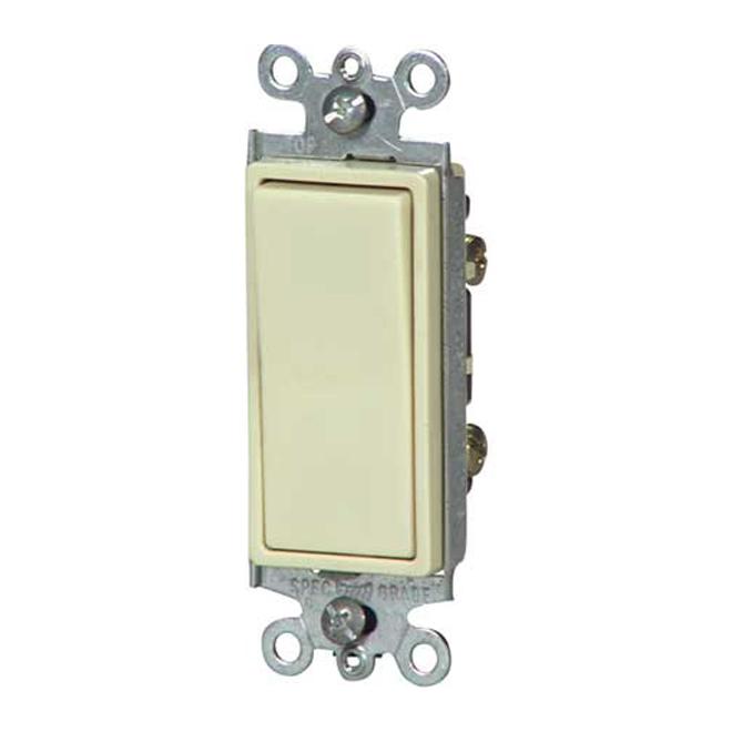Single-pole illuminated switch