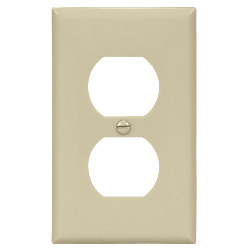 Receptacle Plate - Ivory