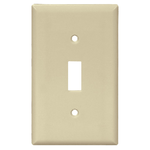 Standard Switch Plate - 1-Gang - Ivory