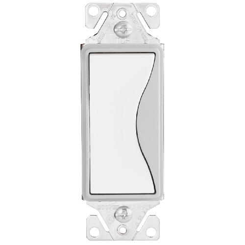 Switch 1-Way - 15A - 120/277V/AC - Satin White