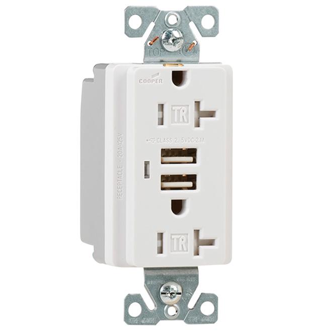 Prise électrique et USB