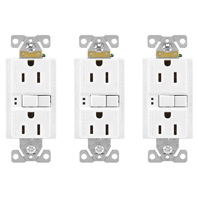 DDFT Double Receptacle - 3-Pack