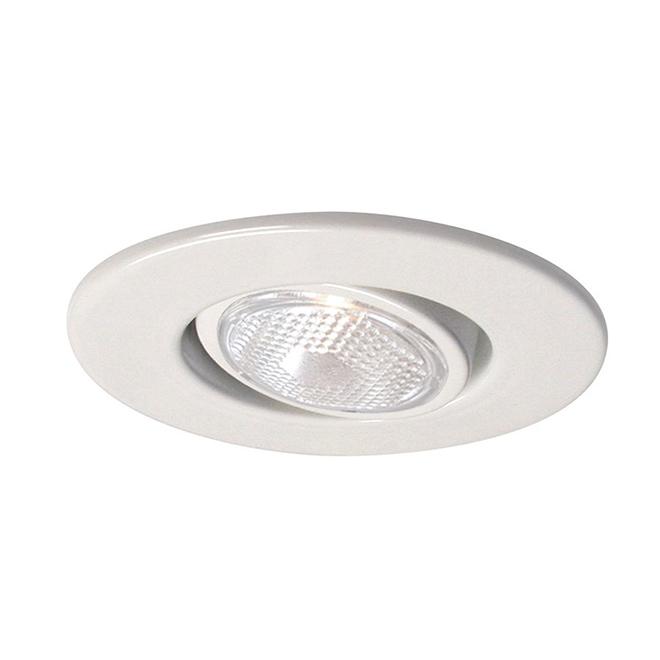 Luminaire encastré orientable Cooper Halo, 4 po, blanc, 1 par paquet