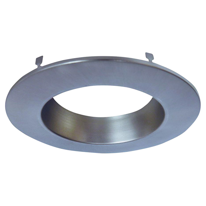 """Recessed Light Trim Ring - RL4 Series - 4"""" - Satin Nickel"""