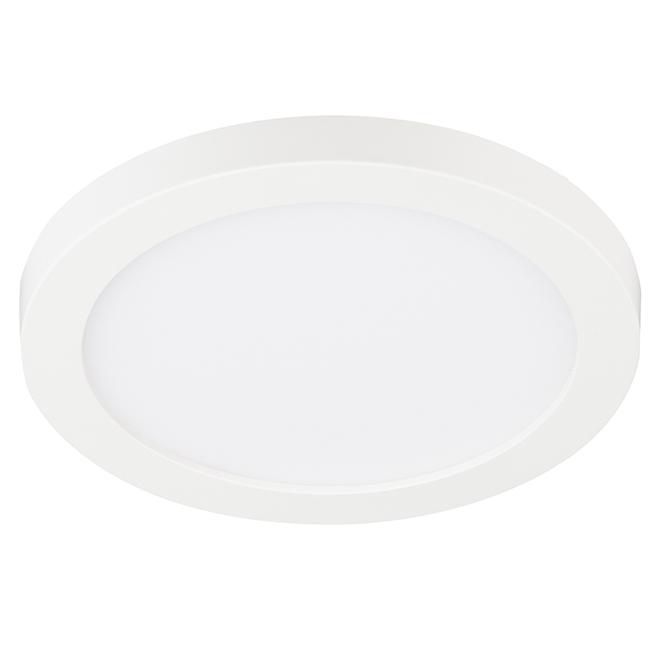 """Luminaire encastrable à montage en surface SMD4, 4"""", blanc"""