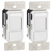 Sliding Dimmer - Single Pole/3-Way - 2/PK