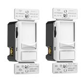 Preset Slide Dimmer - Single Pole/3-Way - White - 2/Pack
