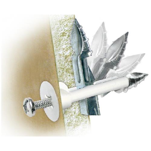 """Ancrage «DrillerToggle» pour mur creux, 1/8"""" x 2"""", 2/pqt"""