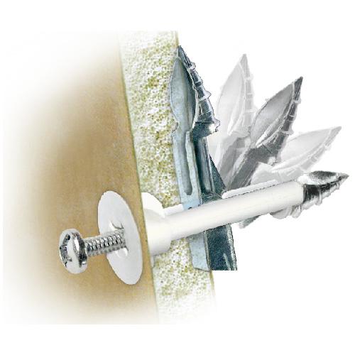 """Ancrage «DrillerToggle» pour mur creux, 1/4"""" x 3"""", 2/pqt"""