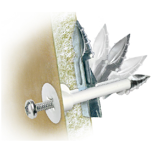 """Ancrage «DrillerToggle» pour mur creux, 1/8"""" x 3"""", 6/pqt"""