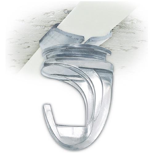 Track Ceiling Hook - White