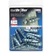 """Walldriller"" Self-Drilling Anchors and Screws - #8 - 10 PK"