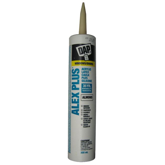 ALEX PLUS Caulk - Acrylic Latex Plus Silicone - 300ml - Almond
