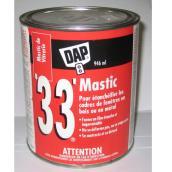 Mastic de vitrier '33'(MD), 946 ml, blanc
