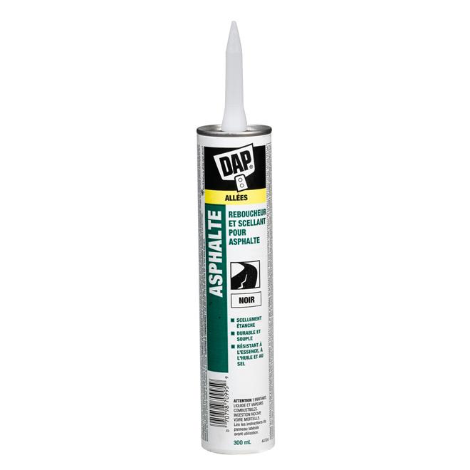 Bouche-fentes et scellant pour asphalte, 300 ml, noir