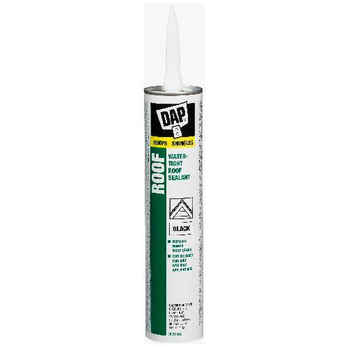 Waterproof Asphalt Roof Filler/Sealant - 300 ml - Black