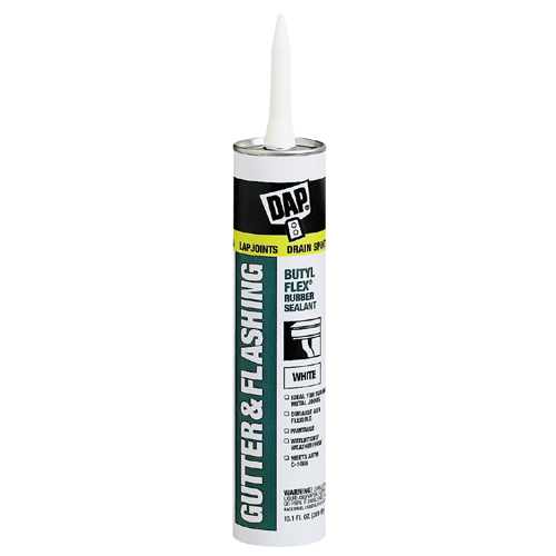 Butyl-Flex(R) Gutter and Flashing Sealant - 300 ml - White