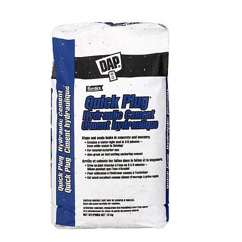 Quick Plug Hydraulic Cement - 10 kg - Gray