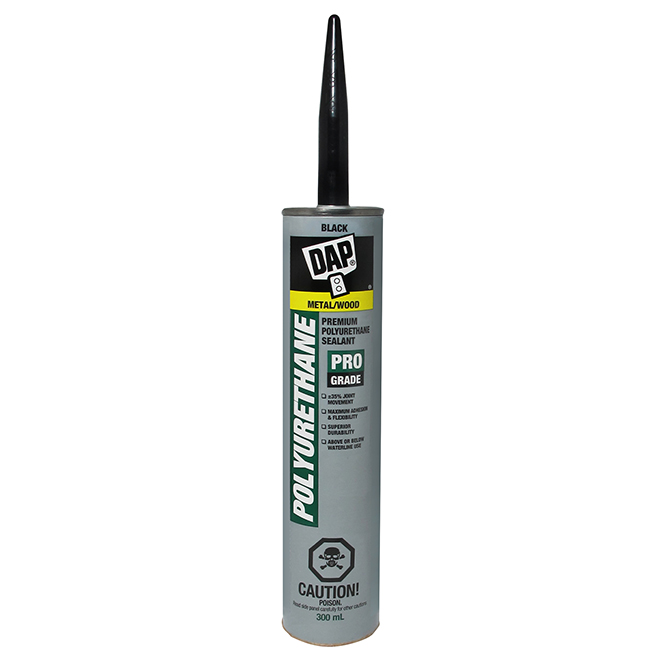 Polyurethane Sealant - Roof and Flashing - 300 ml - Black