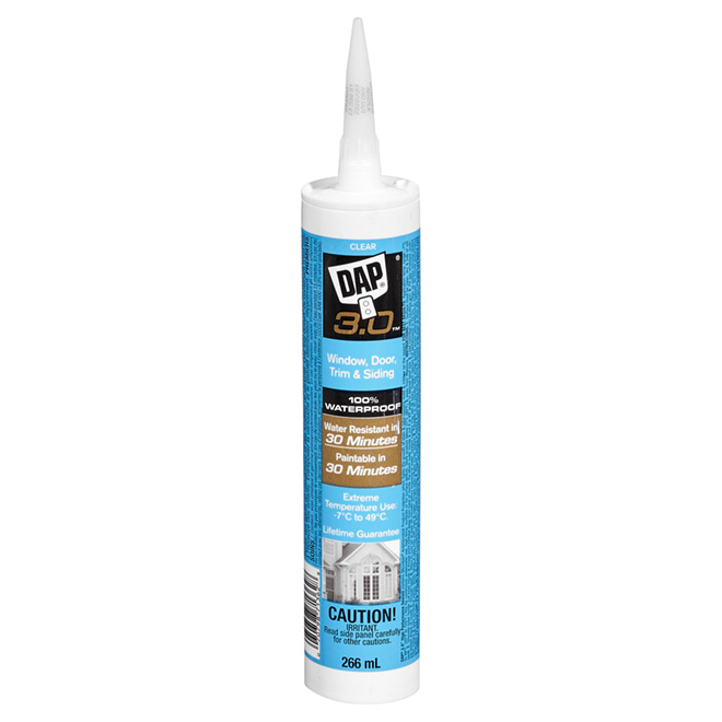 Window, Door & Trim High Performance Sealant - 266 ml - Clear