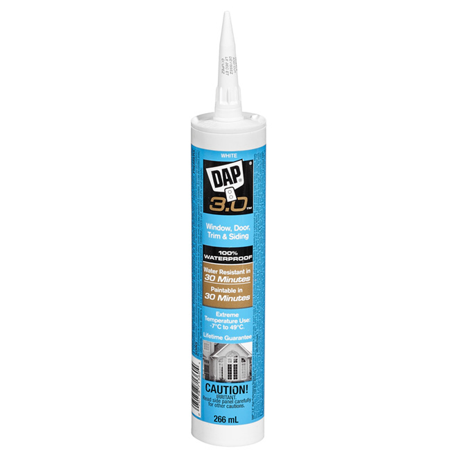 Window, Door & Trim High Performance Sealant - 266 ml - White