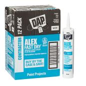 Acrylic Latex Caulk with Silicone - 300 ml - White