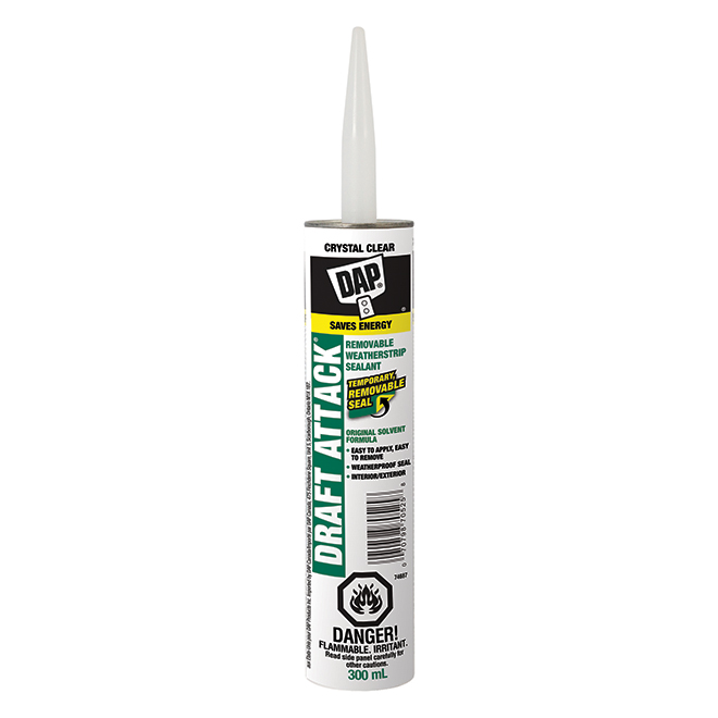 Removable Watertight Sealant - 300 mL - Clear