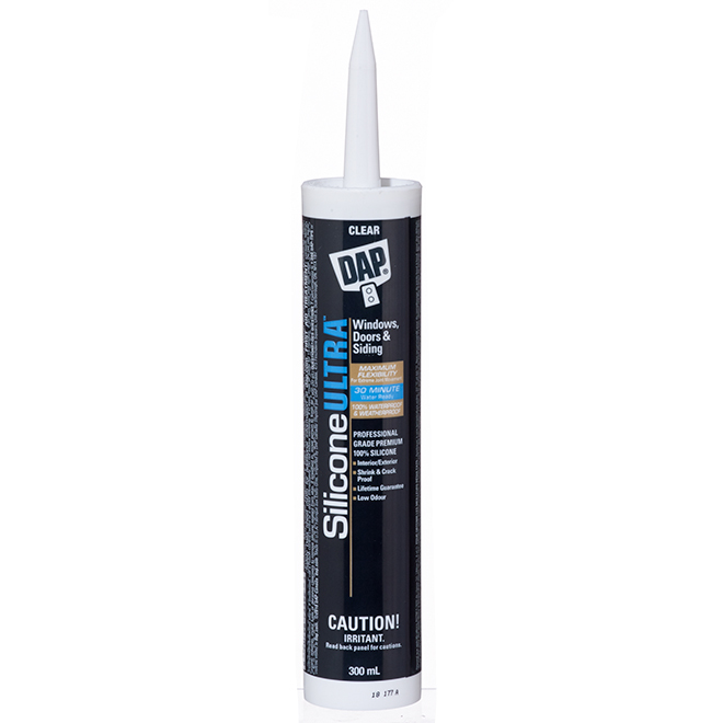 Silicone Ultra Sealant - Doors and Windows - 300 mL - Clear