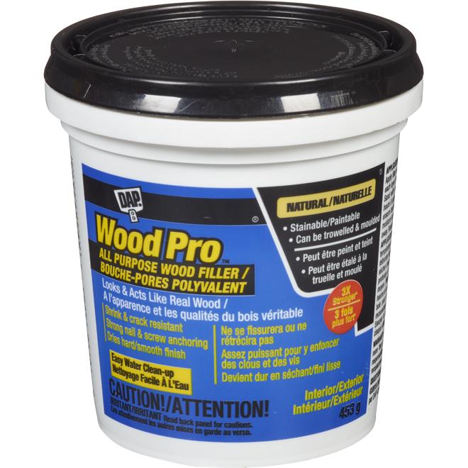 Wood Filler for wood - Natural - 453 g