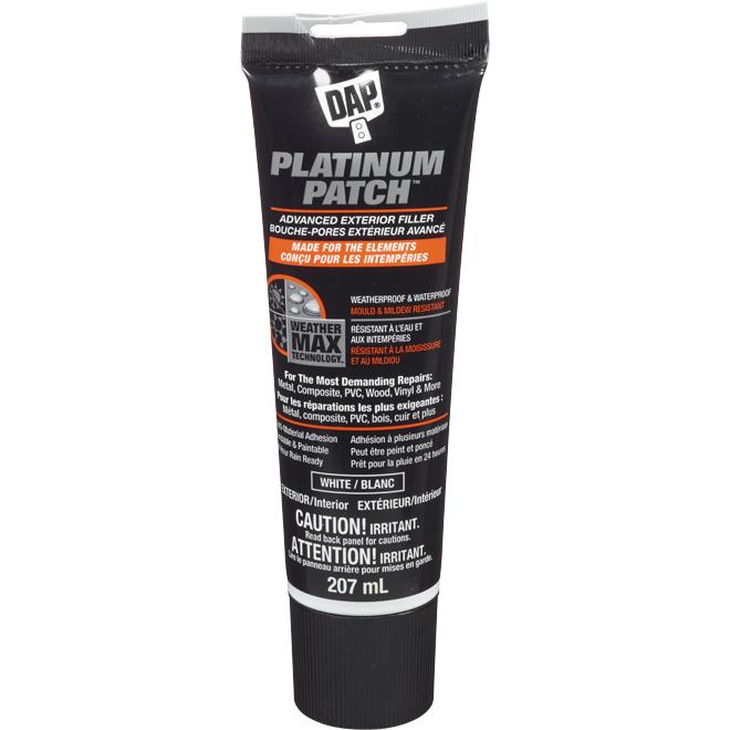 DAP Platinum Patch Advanced Exterior Filler - White - 207 mL