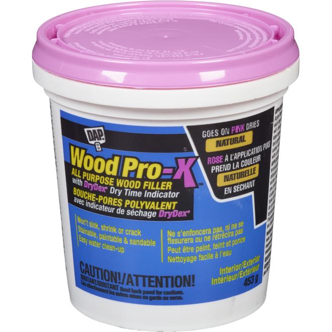 DAP Wood Filler - Latex - 453 g - Pink