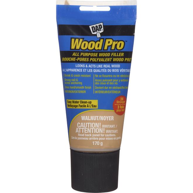 Bouche-pores en latex DAP pour bois, 170 g, noyer