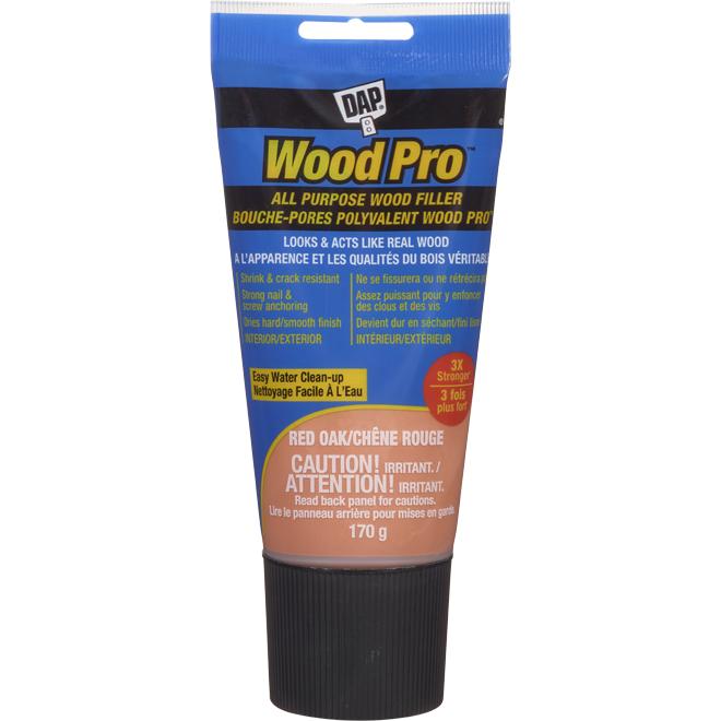 Bouche-pores en latex DAP(MD) pour bois, 170 g, chêne rouge