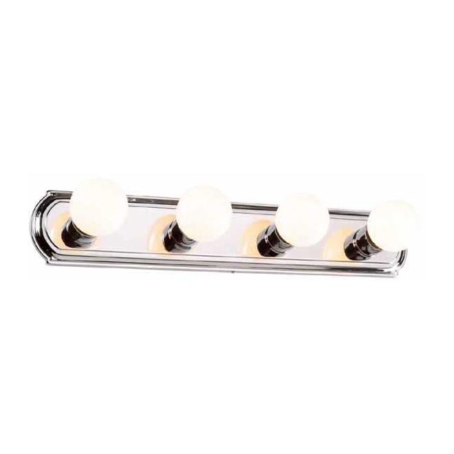 Applique de salle de bain à 4 lumières, chrome | RONA