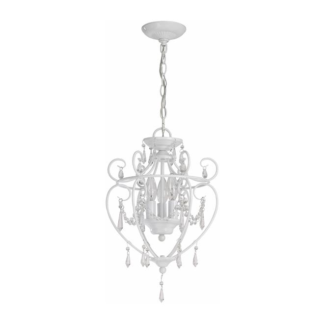 Pixie 3 light chandelier