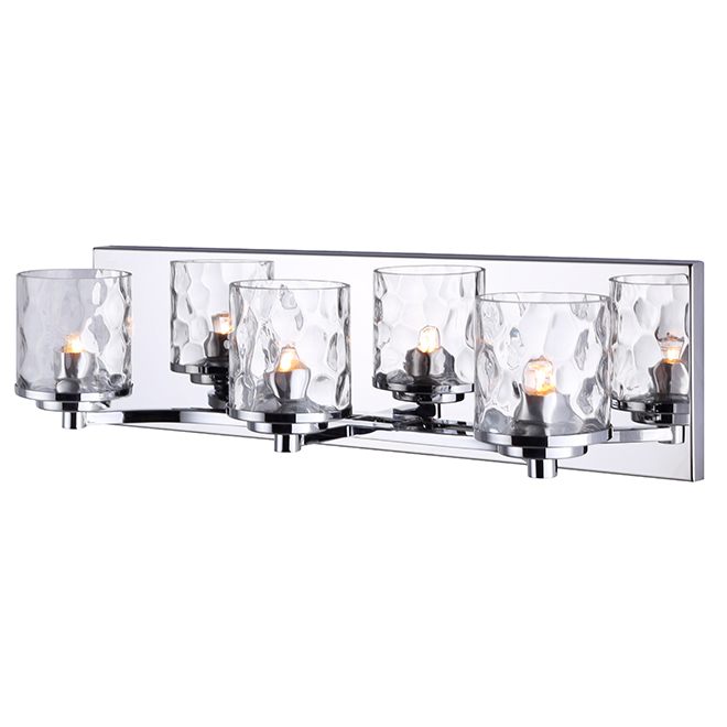 Canarm - Abella Wall Fixture - 3 Lights - Chrome