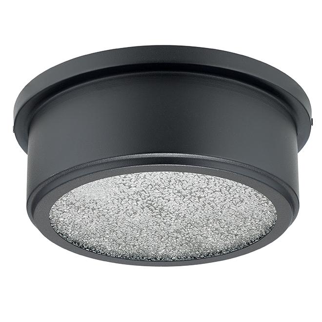 "Taye Outdoor Flush-Mount Light - 60 W - 10"" x 3 1/2"" - Black"