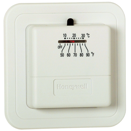 Honeywell Non Programmable Thermostat - 750 mV
