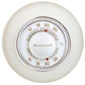 Honeywell Manual Thermostat - Classic Round - 24 V