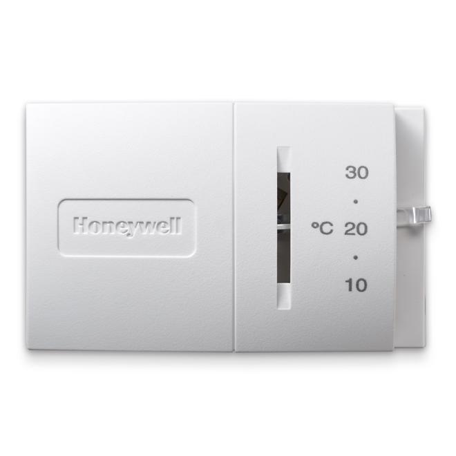 Thermostat horizontal standard Honeywell, 24 V, blanc